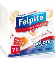 FELPITA SERVILLETAS X70 DECORADA