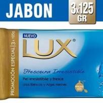 LUX JABON 3X125 LIRIO AZUL