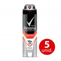 REXONA ANTI.X90 ANTIBACTERIAL HOMBRE $C KIT X 5U