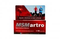 MSM ARTRO X60 SUPLEMENTO CON METIL SULFONIL METANO
