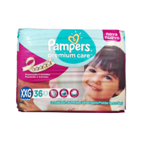 PAMPERS PREMIUN CARE X36 XXG
