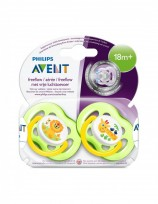 AVENT CHUPETE X2 +18 FREEFLOW MIXTO