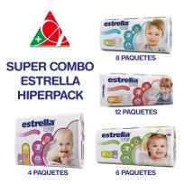 ESTRELLA PAÑALES SUPER COMBO 30 pañales