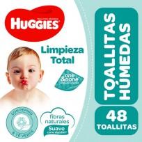 HUGGIES TOALLITAS HUM.X48 LIMPIEZA TOTAL