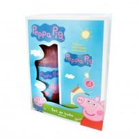 DISNEY PEPPA PIG SET PERFUME + JABON