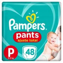 PAMPERS PANTS X48 P CONFORT SEC