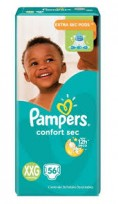 PAMPERS CONFORT SEC X56 XXG