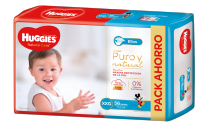 HUGGIES NATURAL CARE NENE X56 XXG