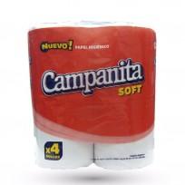 CAMPANITA PAPEL HIGIENICO X4 30 METROS