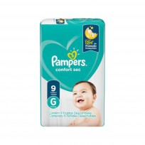 PAMPERS CONFORT SEC MAX X9 G
