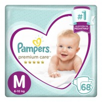 PAMPERS PREMCARE X68 M