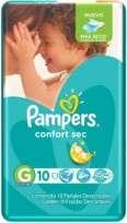 PAMPERS CONFORT SEC X10 G