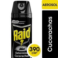 RAID X390 EXTERMINADOR DE CUCARACHAS NEGRO