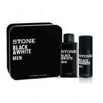 STONE BLACK&WHITE LATA EDT+DEO