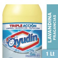 AYUDIN LAVANDINA X1L PUREZA GLACIAR