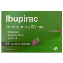 IBUPIRAC IBUPROFENO 400MG CAPS BLAND X24