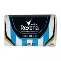 REXONA JABON X125 FUTBOL FAN
