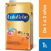 Enfabebe Premium 3 (1 A 3 Años) 6 Unidades X 1 Litro