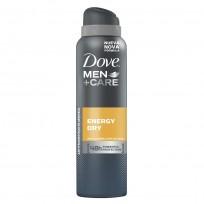 Dove Men Energy Dry Antitranspirante Aerosol Masculino x 89