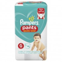 PAMPERS PANTS X14 G