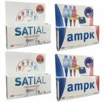 2 Ampk 60 Comp + 2 Satial 60 Comp. Combo adelgazante