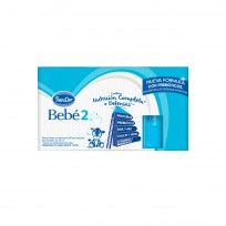 SANCOR BEBE 2. KIT 12 LECHES X500ML (DE 6 A 12 MESES)