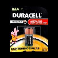 DURACELL PILA AAA X2