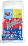 EL COLOSO BROCHES X12 PLAST.