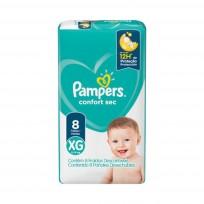 PAMPERS CONFORT SEC MAX X8 XG