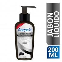 ASEPXIA JABON LIQUIDO CARBON X200