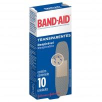 BAND AID X10 TRANSPARENTES