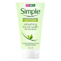 SIMPLE JABON LIQUIDO FACIAL GEL REFRESCANTE