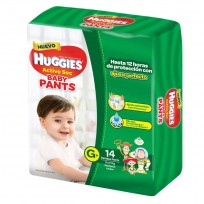 HUGGIES PANTS X14 G 9 A 14KG