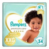 PAMPERS PREMIUM CARE X34 XXG