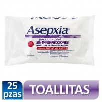 ASEPXIA TOALLITAS HUMEDAS X25