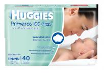 HUGGIES PRIM.100 D.X40 RN XX