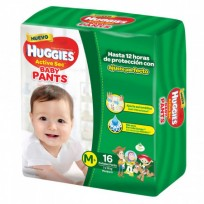 HUGGIES PANTS X16 M 7 A 12KG