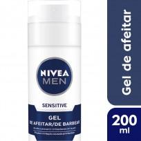 NIVEA GEL DE AFEITAR X200 SENSITIVE