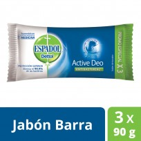 ESPADOL JABON 3X90 ACTIVE DEO