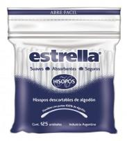 ESTRELLA HISOPOS BOLSA X125