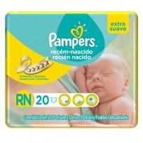 PAMPERS RECIEN NACIDO X20