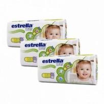 Estrella Pack x 8 Paquete de Pañales