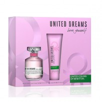 BENETTON LOVE YOURSELF EDT X80 + BODY LOTION