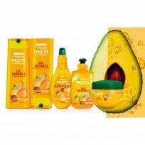Fructis Kit Linea Coco Liso De Garnier - sh+enj+oleo+cr+trat