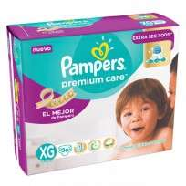 PAMPERS PREMIUN CARE X36 XG