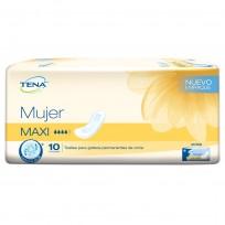 TENA MUJER 20 PAQUETES MAXI X10