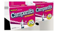 CAMPANITA SERVILLETA X70 BLANCAS