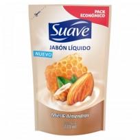 SUAVE JABON LIQUIDO MIEL Y ALMENDRAS DP X220