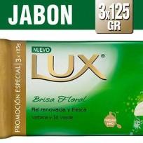 LUX JABON 3X125 VERBENA