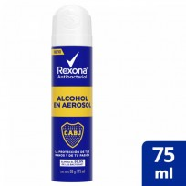 REXONA ALCOHOL AEROSOL ANTIBACTERIAL BOCA